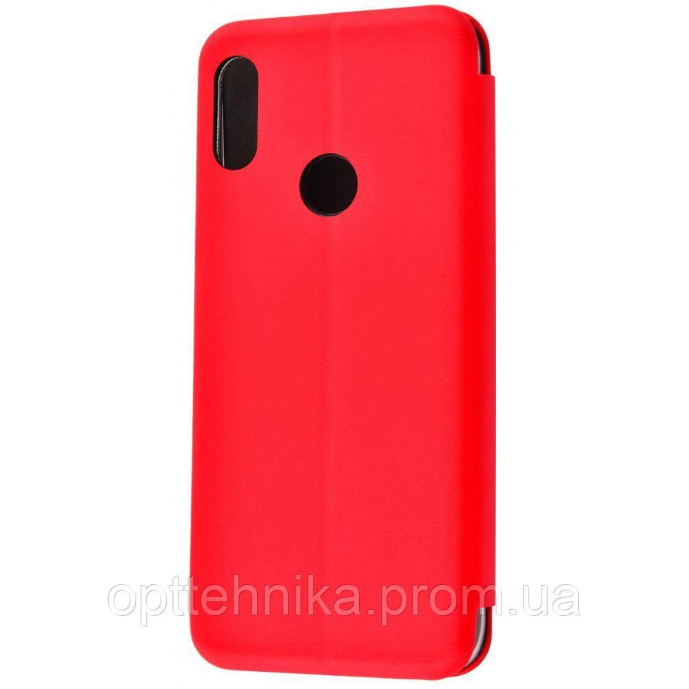 Flip Magnetic Case Xiaomi Redmi Note 7 red