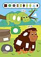 Наліпки-додавалки — Цікавий зоопарк, фото 4