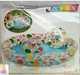 Детский надувной бассейн с мячом и кругом, набор, 122-25 см, фото 3
