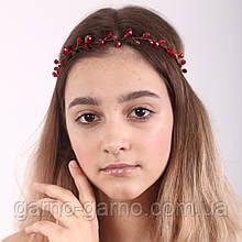 Вінок кришталева Тіара прозора Діадема гілка ручна робота прикраса для волосся