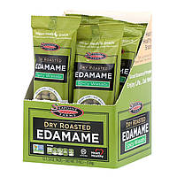 Seapoint Farms, Dry Roasted Edamame, Spicy Wasabi, 12 Packs, 1.58 oz (45 g) Each, официальный сайт