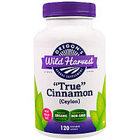 "Oregon's Wild Harvest, ""True"" Cinnamon (Ceylon), 120 Vegetarian Capsules, официальный сайт"