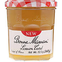 Bonne Maman, Лимонный творог, 360 г, официальный сайт