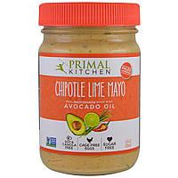 Primal Kitchen, Майонез з маслом авокадо, перцем халапеньо, лаймом, 12 рідких унцій (355 мл)