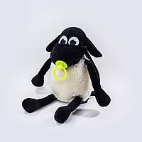 Рюкзак детский Weber Toys Барашек Тимми 40см лимонная соска (5152)
