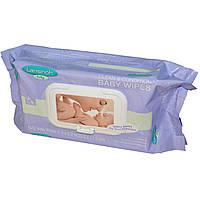 Lansinoh, Очищающие влажные салфетки для ухода за детской кожей, 80 салфеток, 20 x 17,5 см, официальный сайт