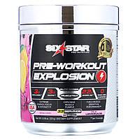 Six Star, Pre-Workout Explosion, предтренировочный комплекс, розовый лимонад, 231г (8,16унции), официальный сайт