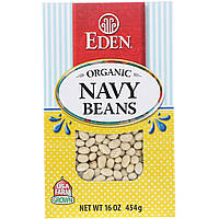 Eden Foods, Organic Navy Beans, 16 oz (454 g)