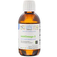 Little DaVinci, KiddOmega-3, Tasty Cherry Orange Flavor, 6.67 fl oz (200 ml)