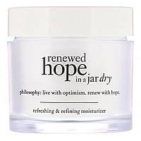 Philosophy, Очищающий и восстанавливающий увлажняющий крем для сухой кожи Renewed Hope in a Jar, 60мл, официальный сайт