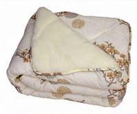 """Одеяло """"Главтекстиль"""" мех овчины, 150х210см, расцветка в ассортименте"""