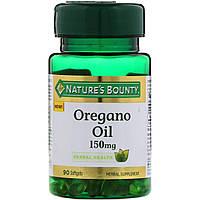 Nature's Bounty, Масло орегано, 150 мг, 90 м'яких таблеток