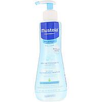Mustela, Baby, очищающая жидкость, не требующая смывания, для нормальной кожи, 300 мл, официальный сайт