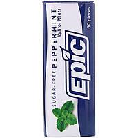 Epic Dental, 100% Подслащенный ксилит, Конфеты с мятой перечной, Без сахара, 30 г, официальный сайт