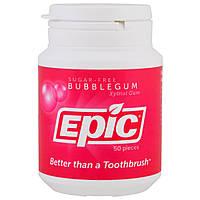 Epic Dental, Жевательная резинка с ксилитом, без сахара, жевательная резинка, 50 шт., официальный сайт