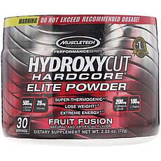Hydroxycut, Performance Series, Hydroxycut Hardcore, елітний порошок для схуднення, фруктовий коктейль, 72 г (