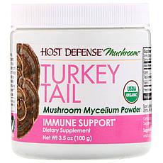 Fungi Perfecti, Трутовик різнобарвний, міцелій грибів в порошку, добавка для зміцнення імунітету, 100 г