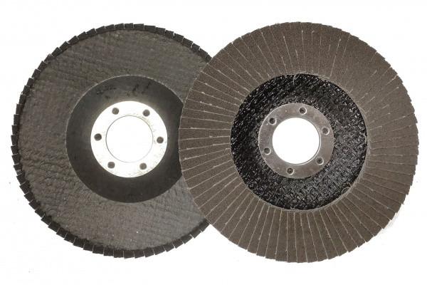 Круг лепестковый торцевой КЛТ MASTER Т29 P120, 115х22 мм