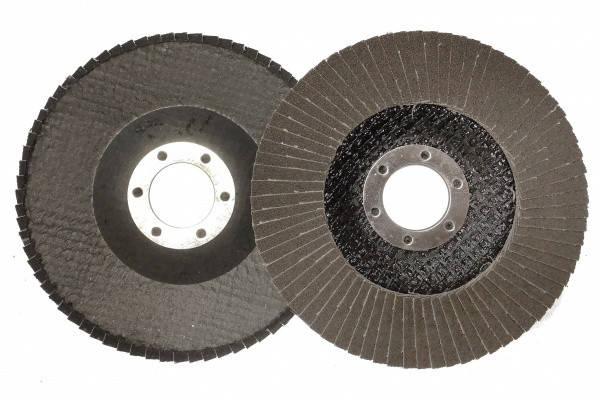 Круг лепестковый торцевой КЛТ MASTER Т29 P120, 115х22 мм, фото 2
