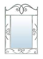 Зеркало SVL Неаполь Серебристый кованное 0103-01
