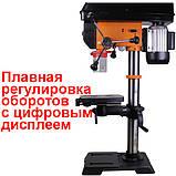 Свердлильний верстат WorkMan DP12VL з безступінчатим регулюванням обертів, фото 2