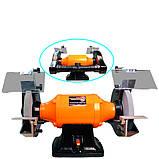 Потужне точило WorkMan CH250 з системою пиловидалення, фото 2