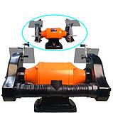 WorkMan CH250 точило 250мм с системой пылеудаления, фото 3