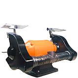 Потужне точило WorkMan CH250 з системою пиловидалення, фото 7