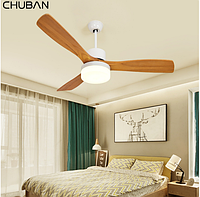 Люстра вентилятор INFC-4711/BWA (,белый,бело-коричневый), фото 1