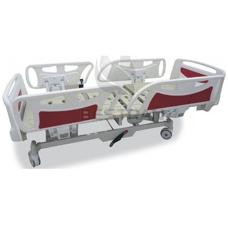 5-Функціональне Електричне Лікарняне Ліжко з запасними батареями, механічна КПП ВТ-АЕ007 Праймед