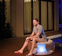 Надувное Кресло Bestway С LED Подсветкой Размер 82 х 82 х 41 См, фото 1