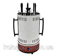 Электрошашлычница Domotec BBQ Шашличниця MS-7783 Червона Потужність 1000 W