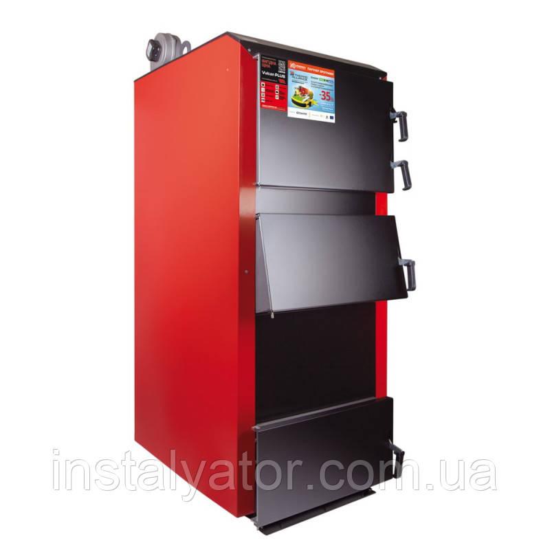 Сталевий твердопаливний котел Thermo Alliance Vulcan PLUS VPSFW 100