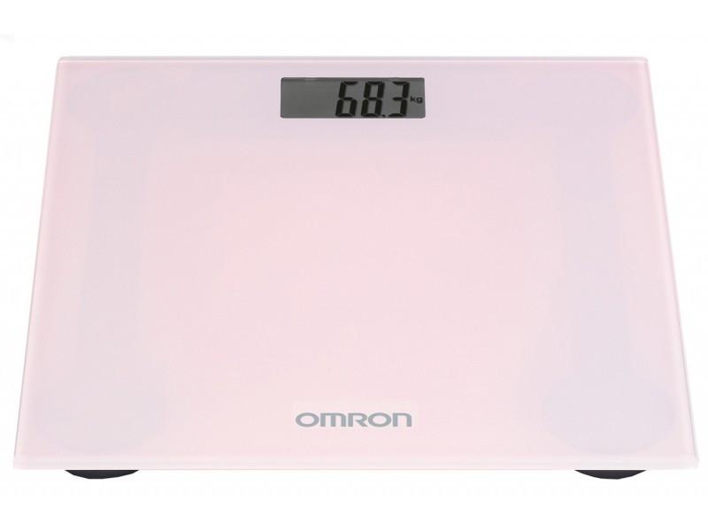 Весы напольные OMRON HN-289-EPK (розовые) Праймед