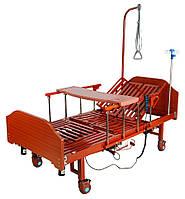 Ліжко електрична YG-3 Праймед з боковим перевертанням, туалетним пристроєм і функцією «кардиокресло»