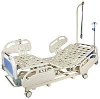 Ліжко електрична DB-3 Праймед (5 функцій) з висувним ложементом і ростоматом CPR+акумулятор з ростоматом
