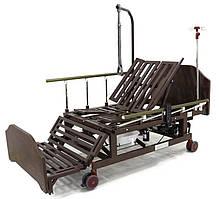 Ліжко електрична DB-11А Праймед з боковим перевертанням, туалетним пристроєм і функцією «кардиокресло»