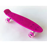 Пенни борд (пенниборд) 2211 Penny Board розовый, фото 7