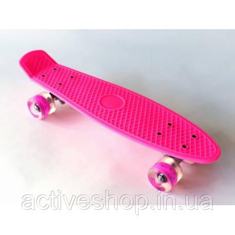 Пенни борд (пенниборд) 2211 Penny Board розовый