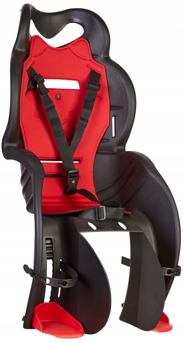 Велокресло HTP SANBAS на багажник Черное