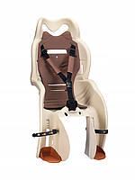 Велокресло HTP SANBAS на багажник Бежевое