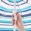 Пляжный зонт с регулируемой высотой Springos 160 см BU0006, фото 4