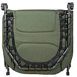 Коропова розкладачка для риболовлі природи Ranger Easyrest до 160 кг навантаження + чохол, фото 9