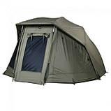 Палатка-зонт туристическая Elko 60IN OVAL BROLLY+ZIP PANEL для рыбалки природы оливково-зеленый, фото 3