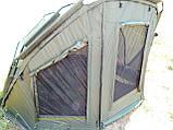 Палатка туристическая Ranger EXP 2-MAN Нigh для рыбалки природы оливково-зеленая, фото 3