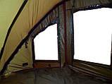 Палатка туристическая Ranger EXP 2-MAN Нigh для рыбалки природы оливково-зеленая, фото 6