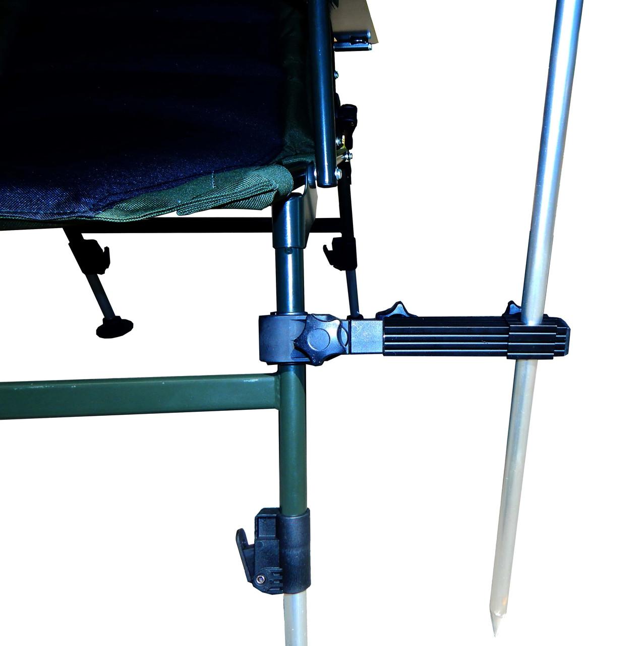 Держатель для зонта к креслу стулу раскладушке  Ranger  алюминий/пластик