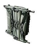 Карповая раскладушка кресло для рыбалки природы Ranger BED 82 до 160 кг нагрузки + чехол, фото 8
