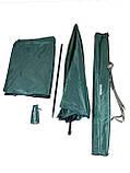 Зонт туристический Ranger Umbrella 2.5M для рыбалки природы пляжа темно-зеленый, фото 2