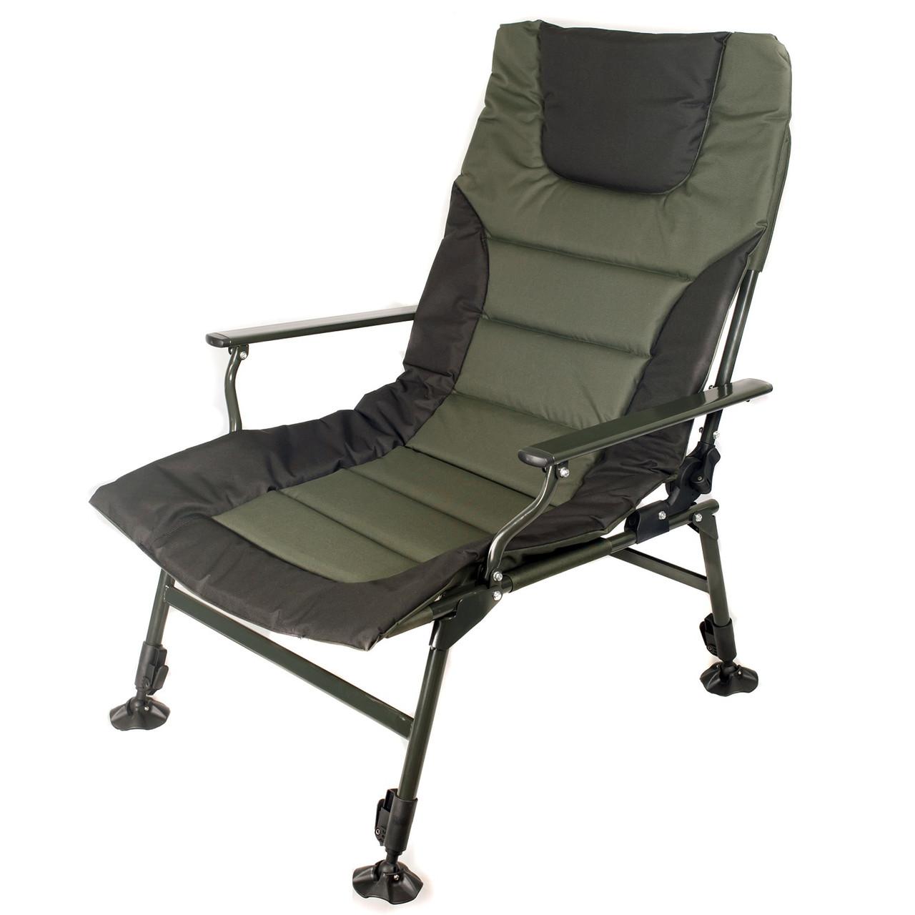 Карповое кресло для рыбалки природы пикника Ranger Wide Carp SL-105 мегкое до 160 кг нагрузки + чехол